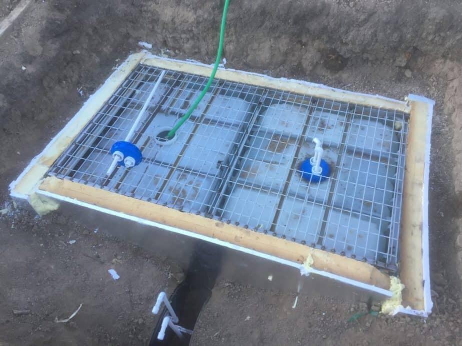 Greenhouse Thermal Mass