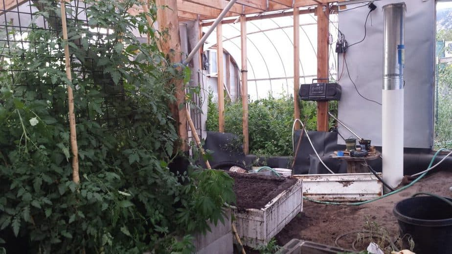 Solar Panel Batteries for Greenhouses