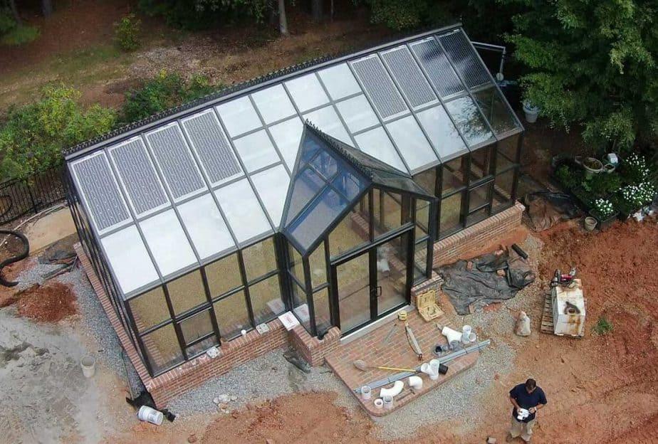 Solar Panels for Greenhouses