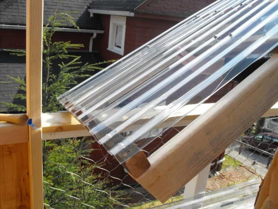 greenhouse panes