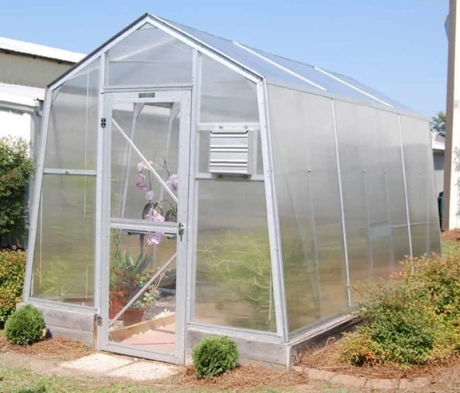 Fiberglass greenhouse