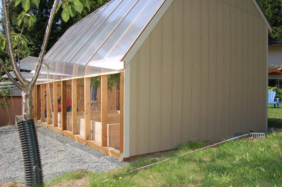polycarbonate greenhouse material