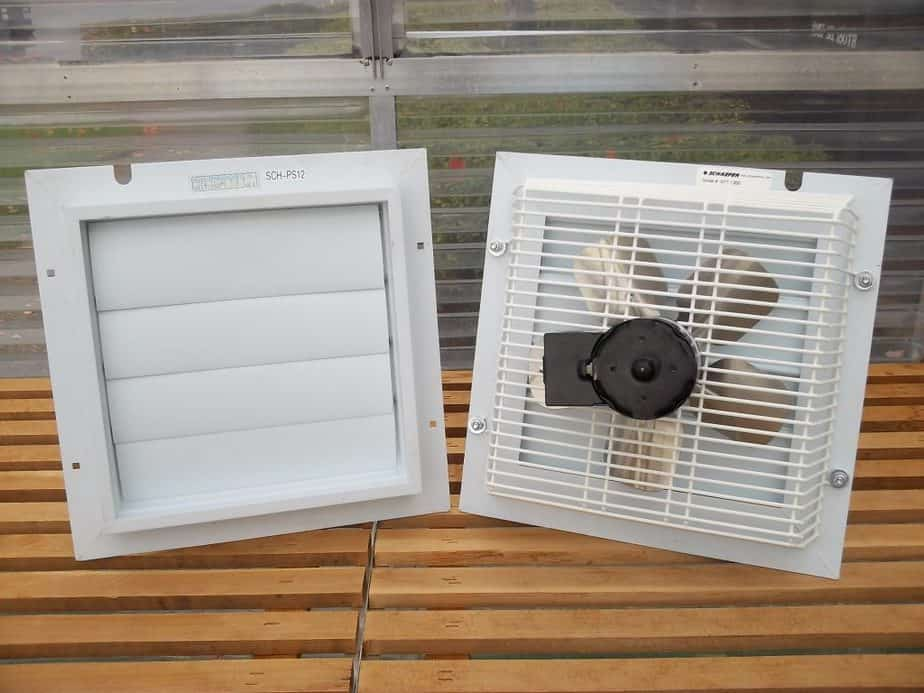 Fans and Vents for a Greenhouse
