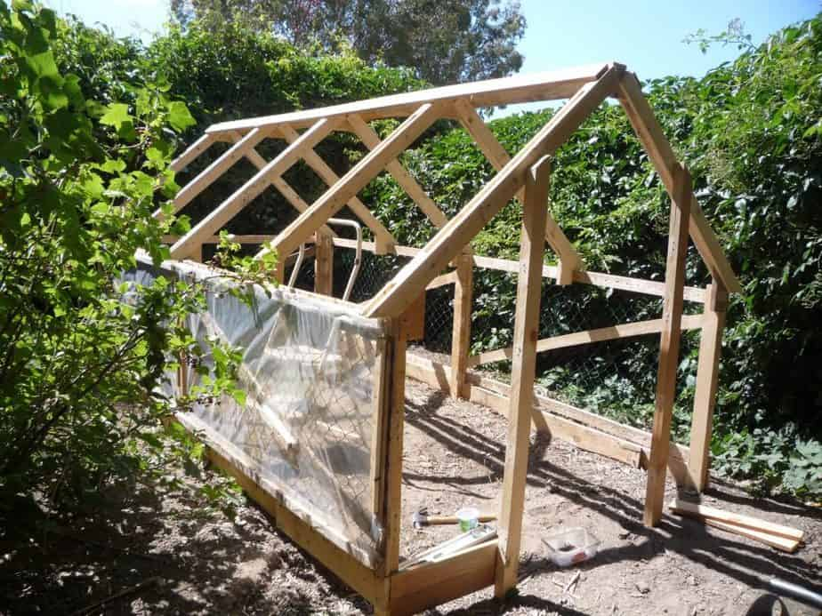 Cost of greenhouse building permit