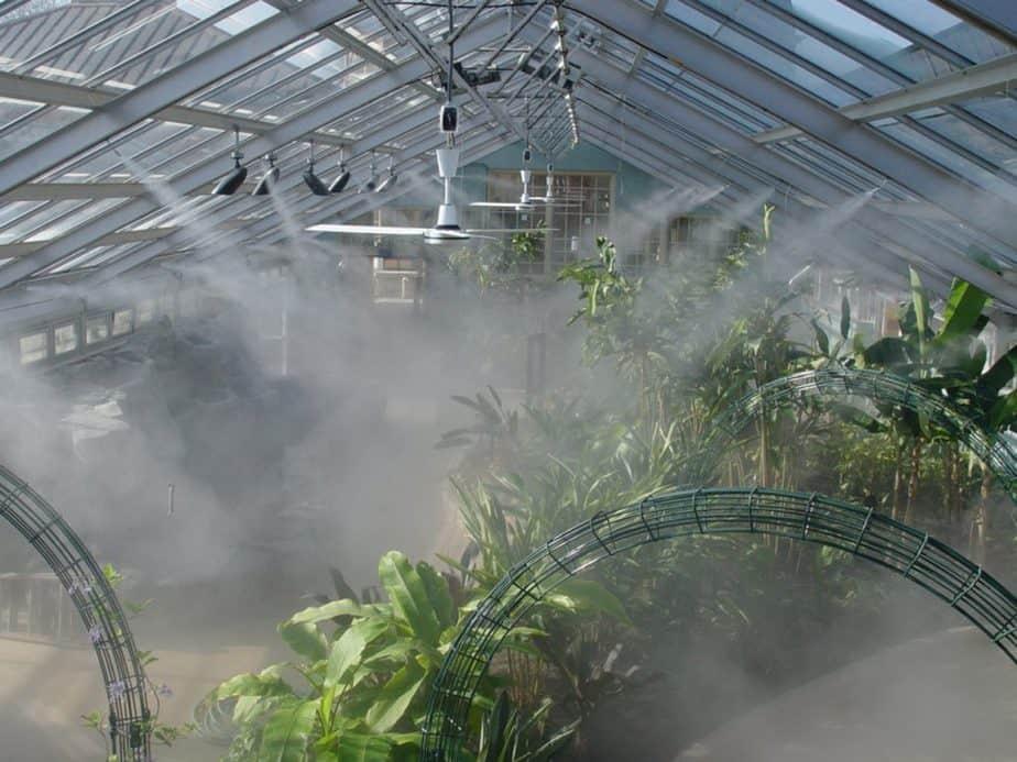 greenhouses humidity