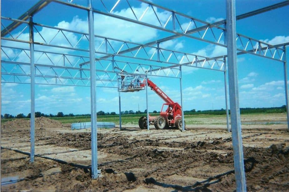 greenhouse cost construction