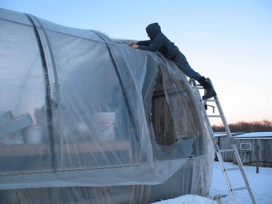greenhouse repairs