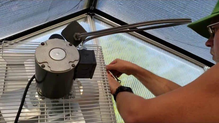 greenhouse fans