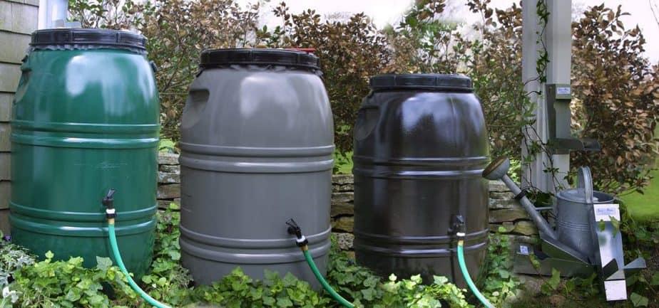 Types of rain barrel