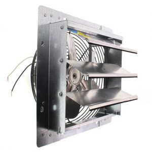 Fantech 2SHE1221 Series Shutter Mount Exhaust Fan