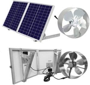 greenhouse Solar-powered Fan