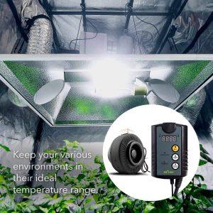 greenhouse Thermostat Fan