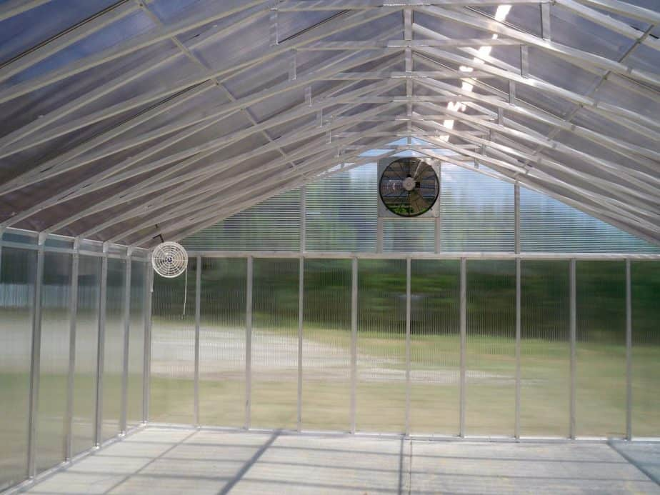 exhaust fan greenhouse