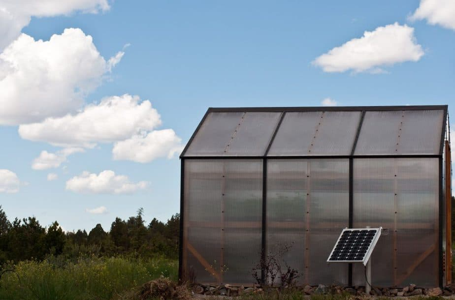 Solar-Powered Greenhouse Exhaust Fans