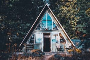 Types of greenhouses A-frame