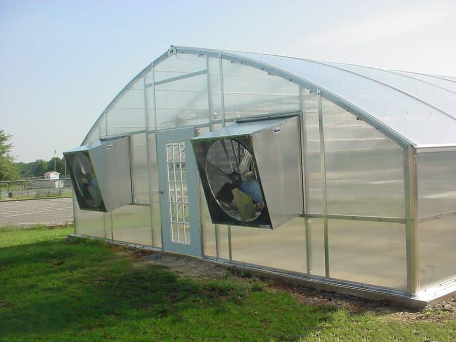 quietest greenhouse exhaust fans