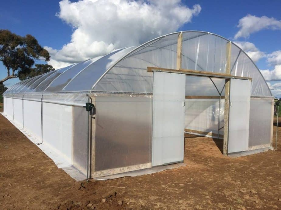 greenhouse Polyethylene plastic vs polycarbonate