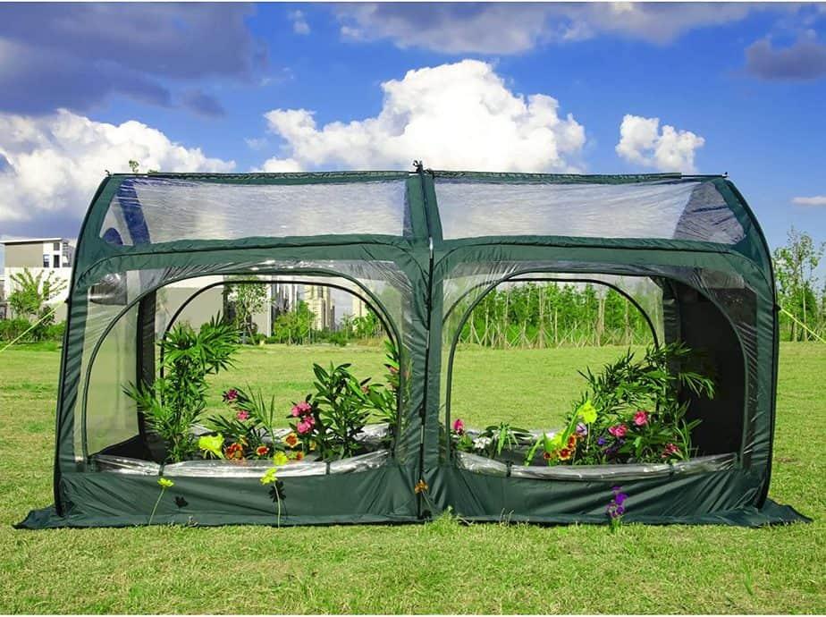 porayhut Pop-Up Greenhouse
