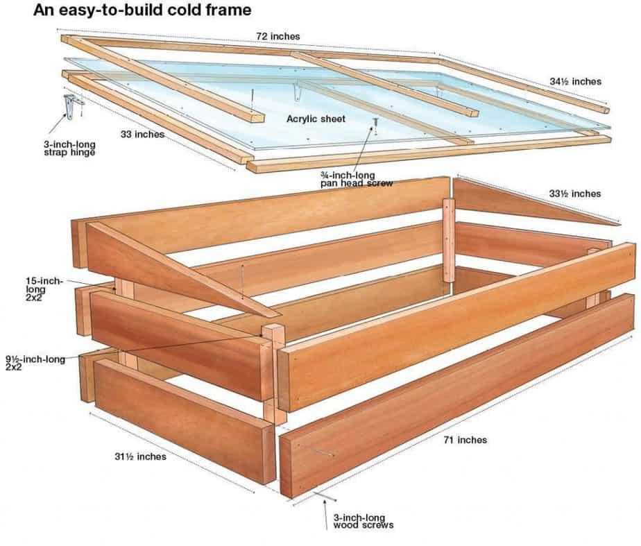Step by Step DIY Cold Frame
