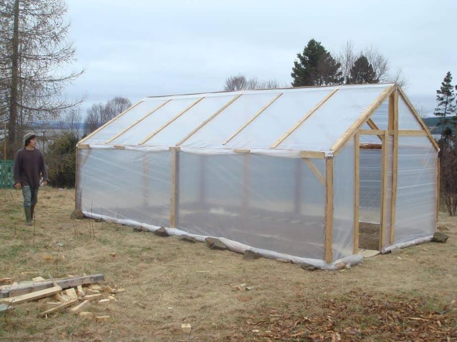 Greenhouse Polyethylene Plastic