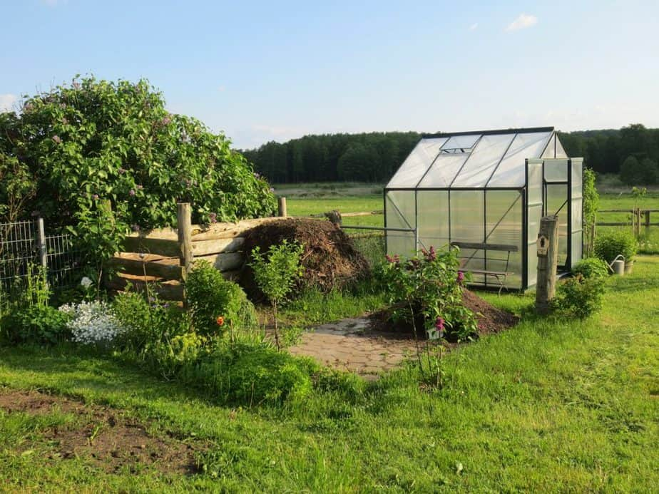 greenhouse, allotment, garden shed
