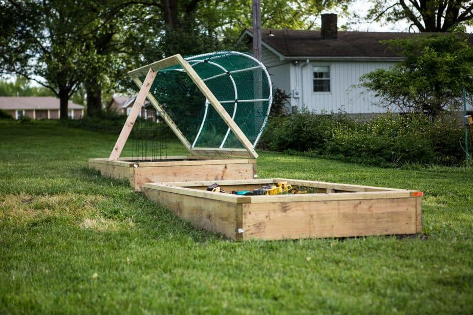 How to Make a DIY Raised Bed Greenhouse Cover