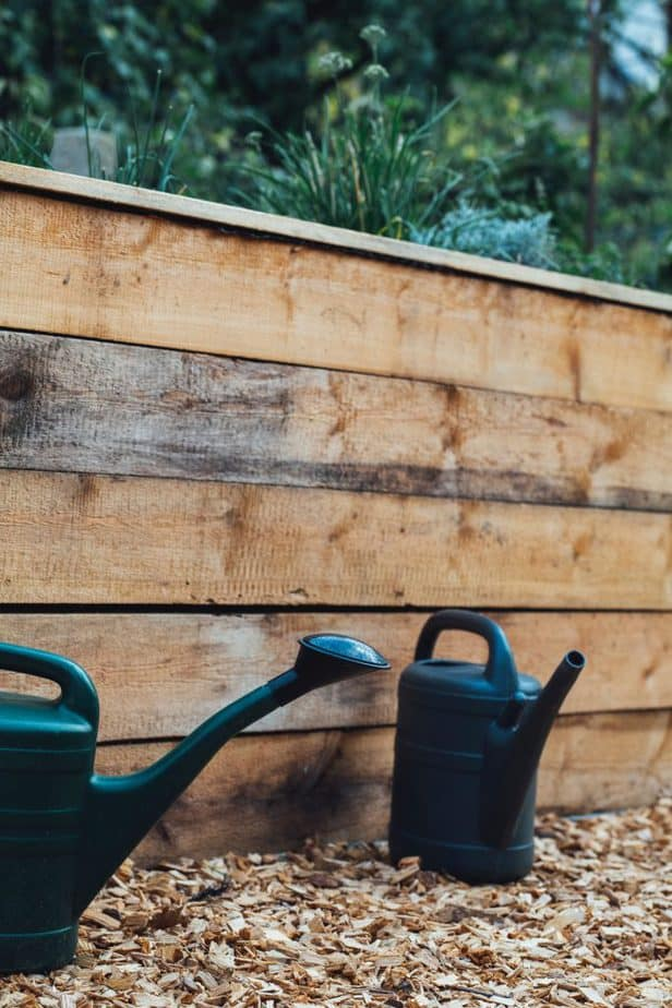 DIY Raised Bed Greenhouse Cover step by step build guide