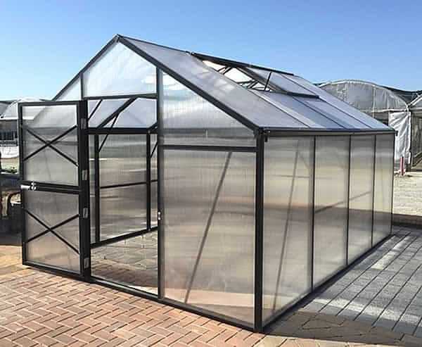 polycarbonate greenhouse kit