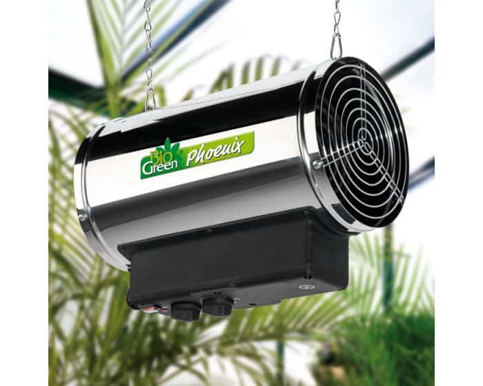 greenhouse heater electric