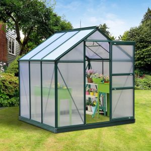 Outsunny Aluminum Greenhouse review