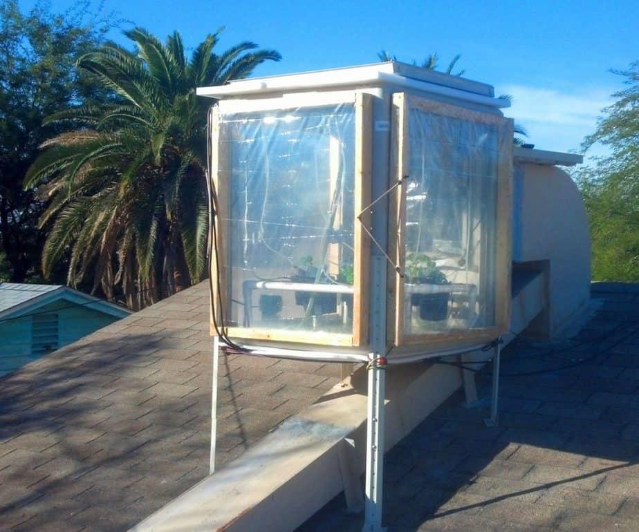 DIY Greenhouse Swamp Cooler